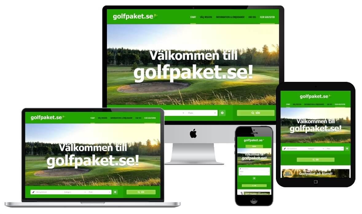 Golfpaket.se -Auto responsive