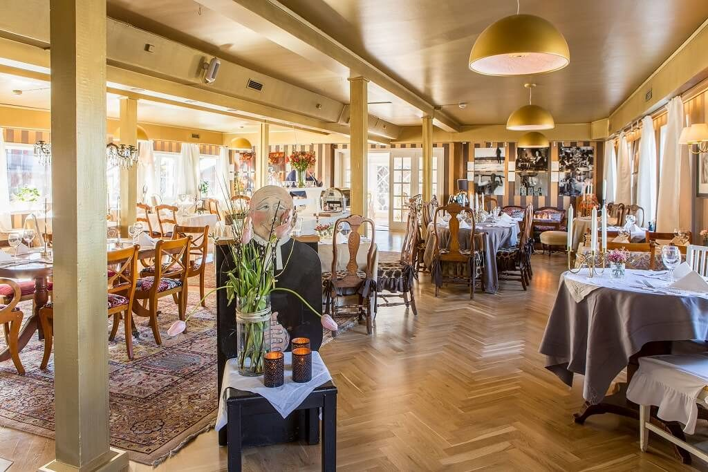 Bomans Hotel i Trosa - Restaurang