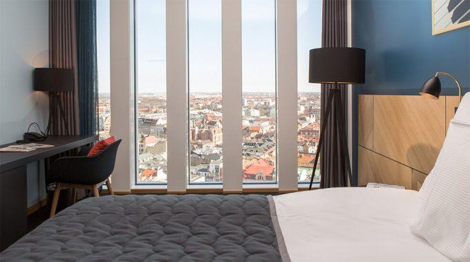 Clarion Hotel Congress Malmö Live -Standard två enkelsängar